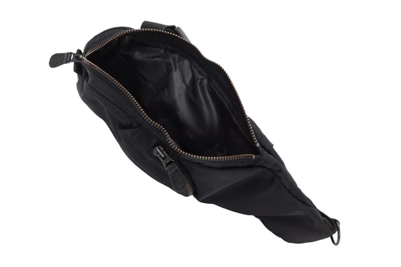 Junya Watanabe Tactical Chest Harness Messenger Waist Bag Release Black Spring Summer 2019