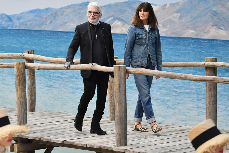 Karl Lagerfeld Chanel Successor Virginie Viard announce confirm statement death passing creative director designer