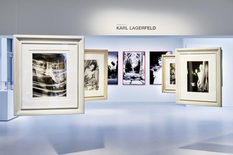 Karl Lagerfeld Photo Exhibition Inside Look Zurich GALERIE GMURZYNSKA