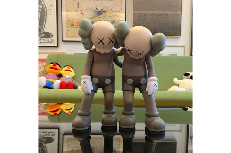 KAWS 'ALONG THE WAY' Figure Release Announcement Black White KAWSONE Buy Couoe