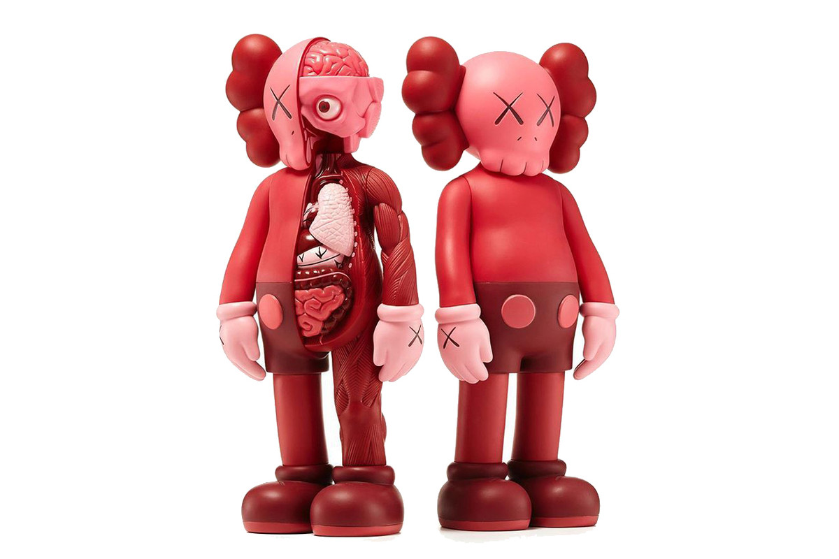 KAWS to Release 'Companion Blush' Figures for Valentine's Day