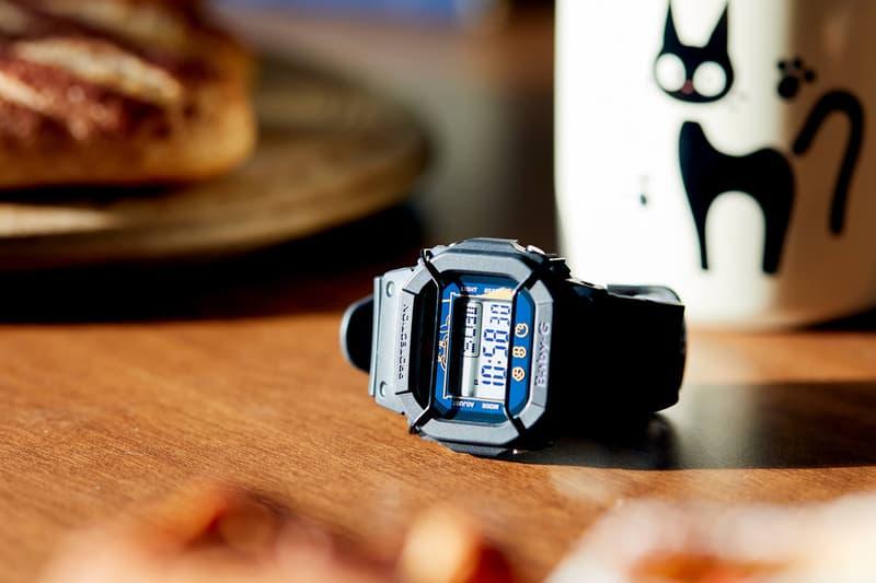 studio ghibli kikis delivery service casio usa baby g watch collaboration