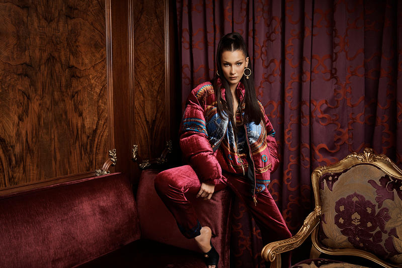 KITH PARK Versace Collaboration Bella Hadid Campaign imagery photographs february 15 2019 drop release date info buy sell sale fall winter 2019 exclusive