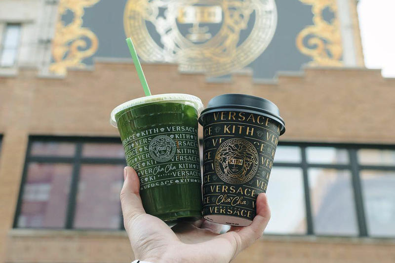 KITH and Versace Host Pop Up at Cha Cha Matcha