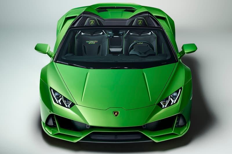 Lamborghini Unveils Huracan Spyder Evo 2019 Hypebeast