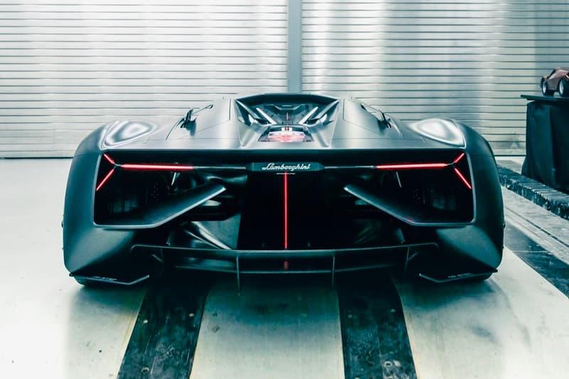 Lamborghini LB48H Terzo Millennio Concept First Look Aventador Specs Specification Hybrid Supercar Frankfurt Motor Show