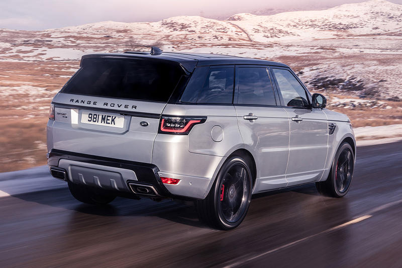 Range Rover Sport HST SUV 2019 Hybrid Supercharger Boost Recovery System