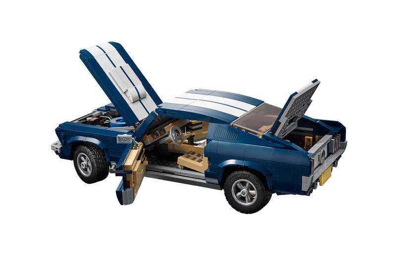 lego creator expert ford mustang 1960s model release price information building blocks toys cars automotive classic cars ford shelby cobra 5.0