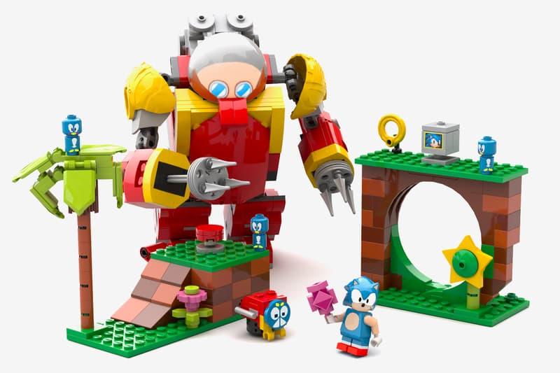 Lego Ideas Sonic Mania Green Hill Zone Concept