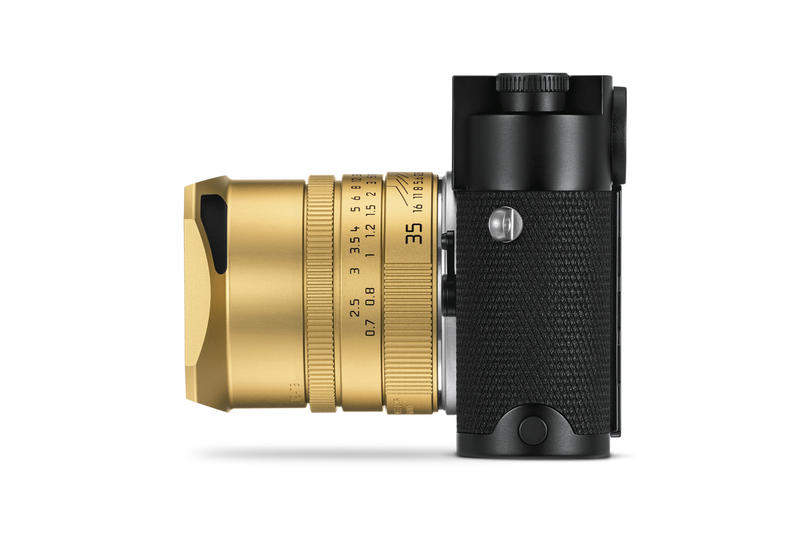 leica m10 p asc100 edition black gold cameras devices
