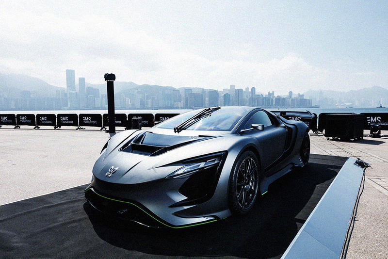 first Leviosa International Motor Show Hong Kong 2019 december 14 19 2019 announce begin start conference car automobile concept pininfarina gfg style flymove dianche