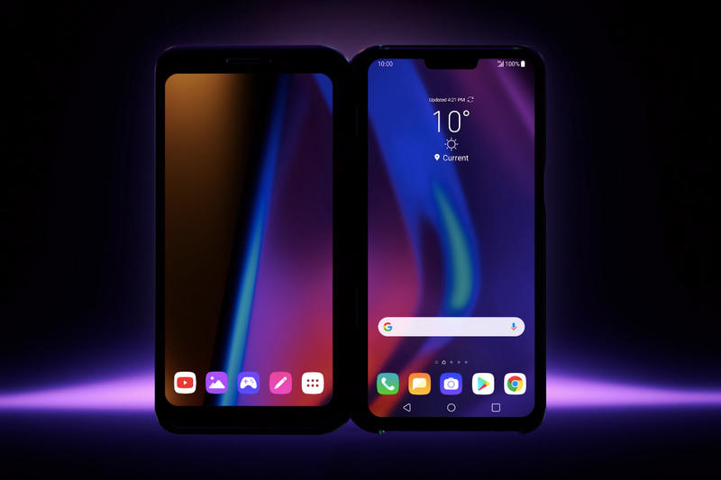 LG V50 ThinQ Dual Screen Smartphone Info Information Details Phone Phones Cop Purchase Buy