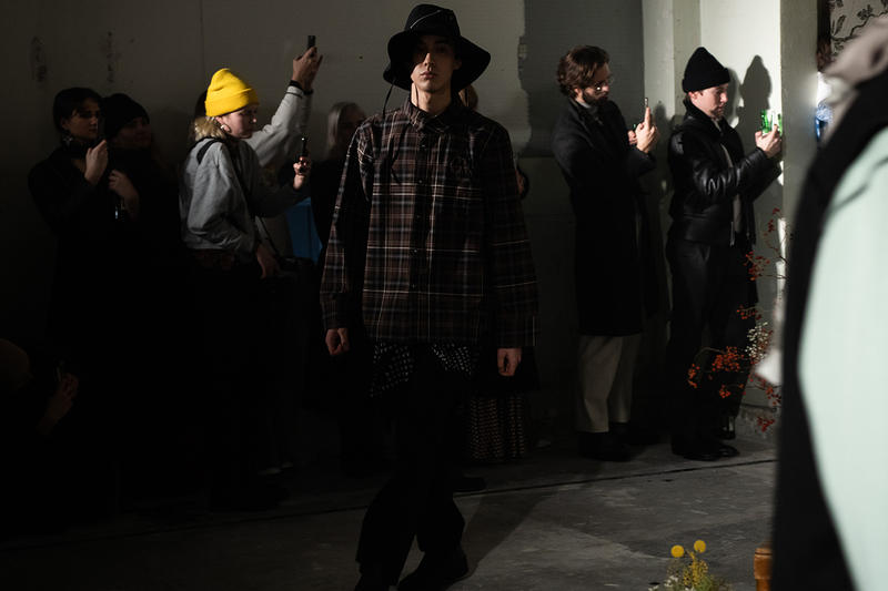 L'Homme Rouge Fall/Winter 2019 Backstage Clothing Runway Stockholm Fashion Week FW19 2019 Sustainability Conversations First Look