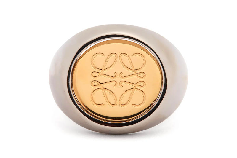 LOEWE Flip Anagram-Logo Ring Release Gold Silver To Buy For Sale Information Matchesfashion.com Signet