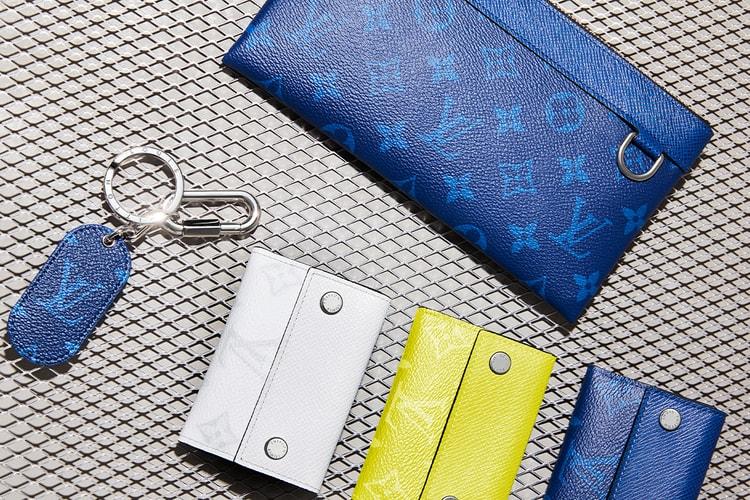 e9dfb2029 Louis Vuitton Debuts New Taïgarama Leather Goods Line