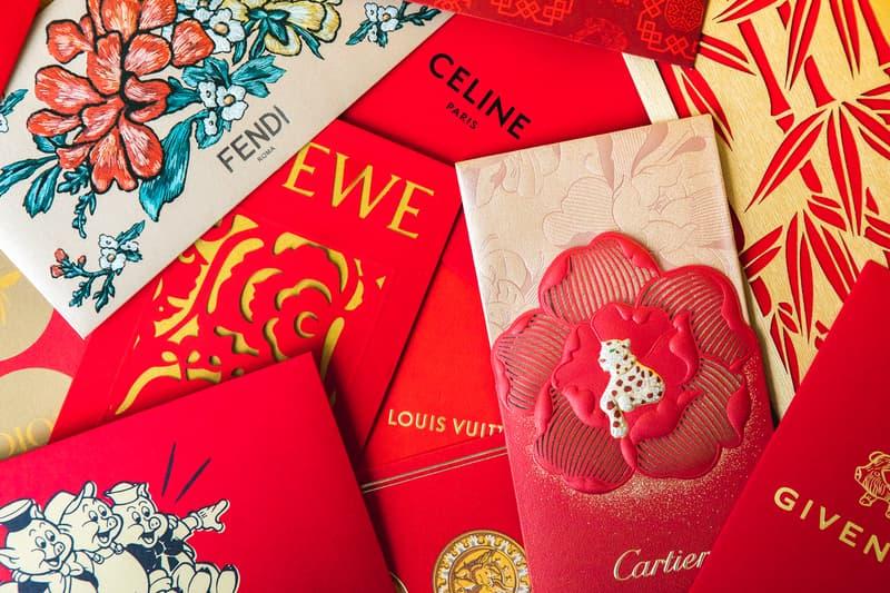 a3315d8c9968 Lunar New Year Red Pockets Hypebeast Top Picks Gucci Louis Vuitton Fendi  Celine Loewe Cartier Versace