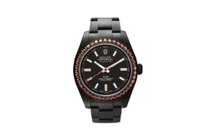 MAD Paris Reworks the Iconic Rolex Milgauss in Matte Black