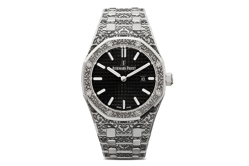 Mad Paris Audemars Piguet Royal Oak 33mm Release Info Grande Fleur Engraved Silver Black