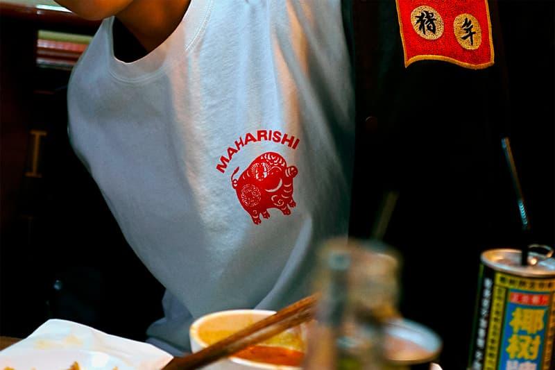 maharishi Lunar New Year Capsule Release Lookbook Info Date Jacket T shirt pig