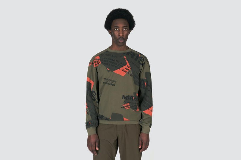 maharishi spring summer 2019 store exclusive march 1 2019 drop date release info collection shattered miltypeshooter shirt panel caps waffle knit crew sweat flight nylon utility vest
