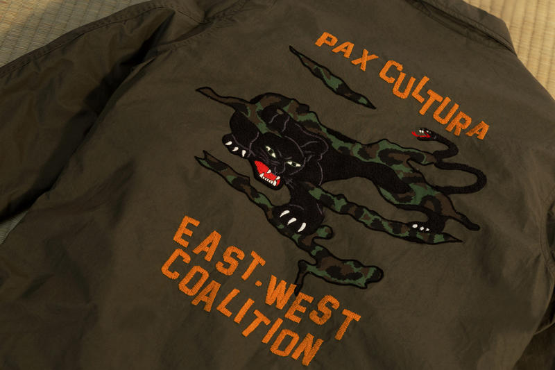 maharishi spring summer 2019 collection east west coalition military jacket capsule