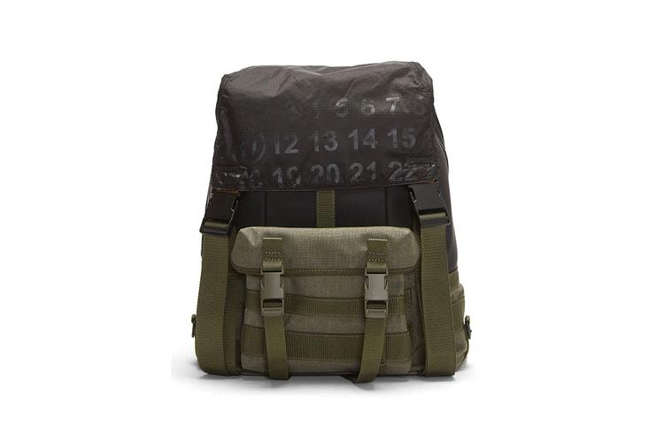 e246acab5 Maison Margiela s Technical Numerical Backpack Sports a Distinct Military  Inspiration