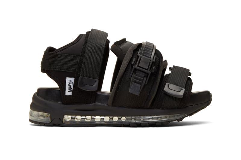 Maison Mihara Yasuhiro Black Skiing Sandals Release