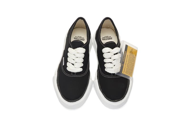 e1ca1a36fbf5 Maison Mihara Yasuhiro SS19 Vans-Like Sneakers spring summer 2019 original  sole