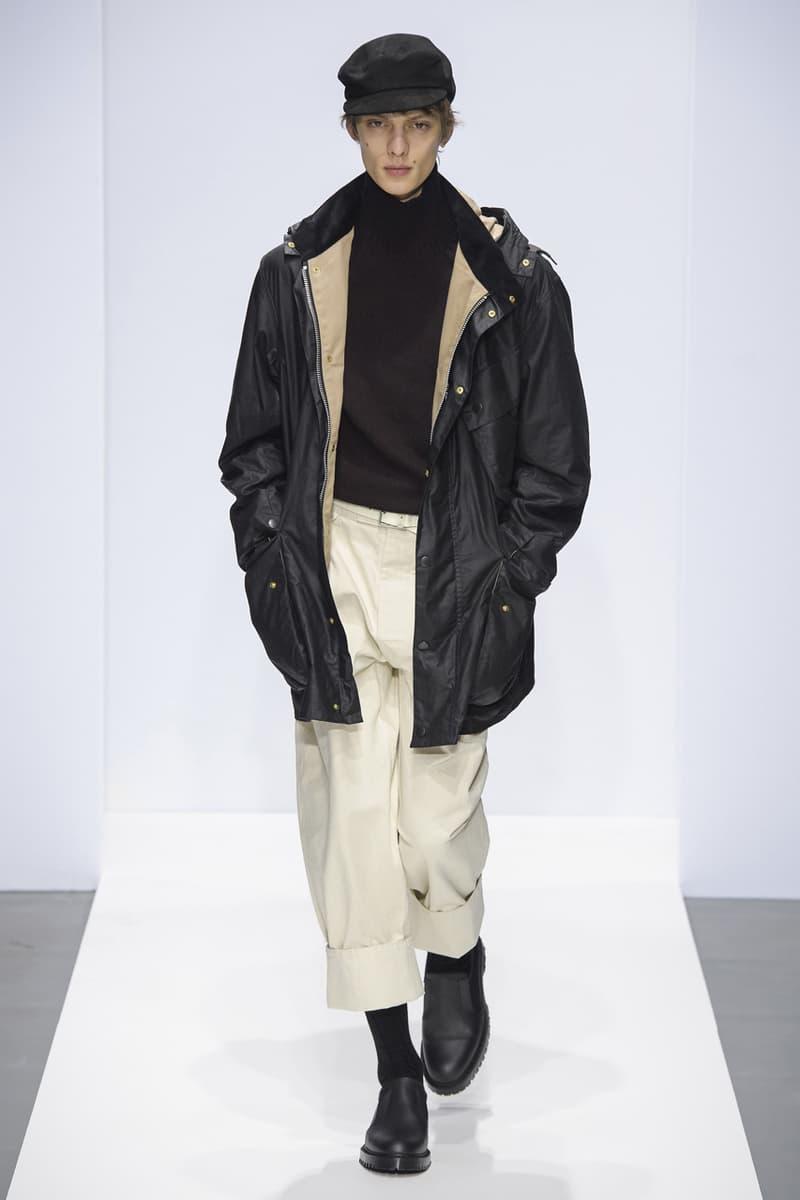 Margaret Howell FW19 Runway Collection fall winter 2019 london fashion week presentation co ed men women ready to wear