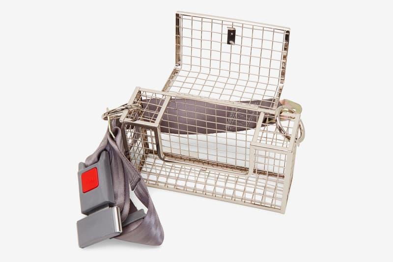 Martine Ali Seat Belt Desi Crossbody Bag Release Metal Grey For Sale Release Information Ssense Jewelry
