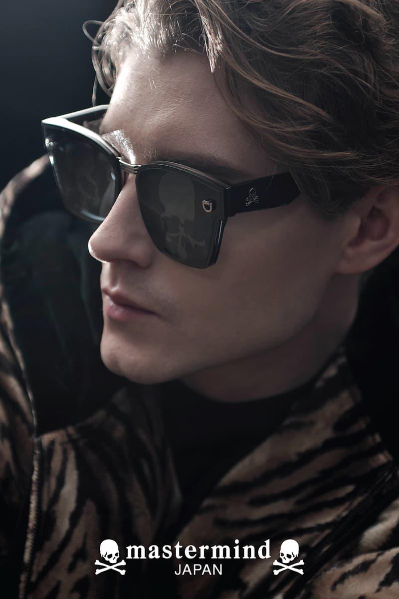 Mastermind Japan First Eyewear Collection Drop Wayfarer Aviator Masaaki Homma Sunglasses