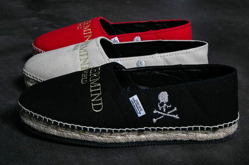 mastermind world japan suicoke Espadrille collaboration footwear shoe collection drop release date info buy february 23 2019 store footwear colorway