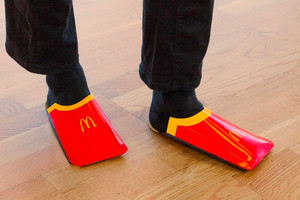 McDonald's Roasts Balenciaga Over French Fry Carton Looking Shoe