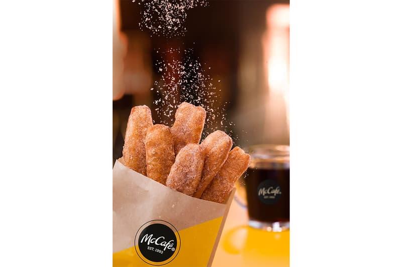 McDonalds McCafé Donut Sticks Launch Breakfast Item Cinnamon