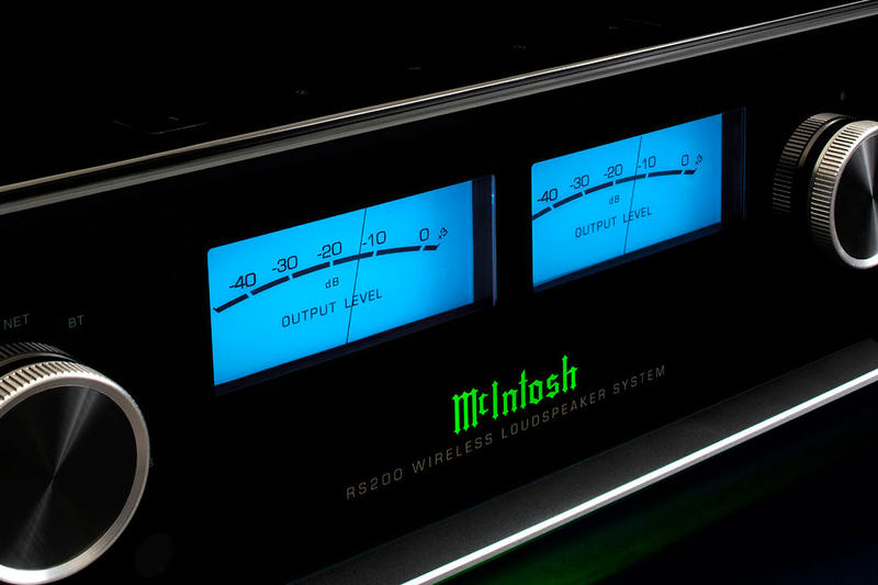 "McIntosh Releases 650W RS200 Wireless Loudspeaker alexa enabled apple airplay 8 drivers (2) 4"" x 6"" woofers, (4) 2"" midranges and (2) ¾"" tweeters bluetooth 5.0 Qualcomm® aptX™ HD info price release"