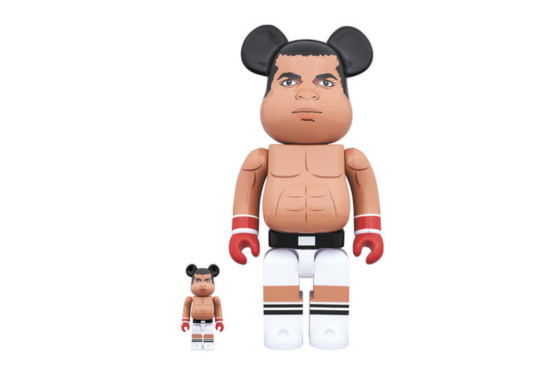 Medicom Toy Bearbrick Muhammad Ali Details Info Information Release Date Cop Purchase Buy Boxing Memorabilia Collectable Toy