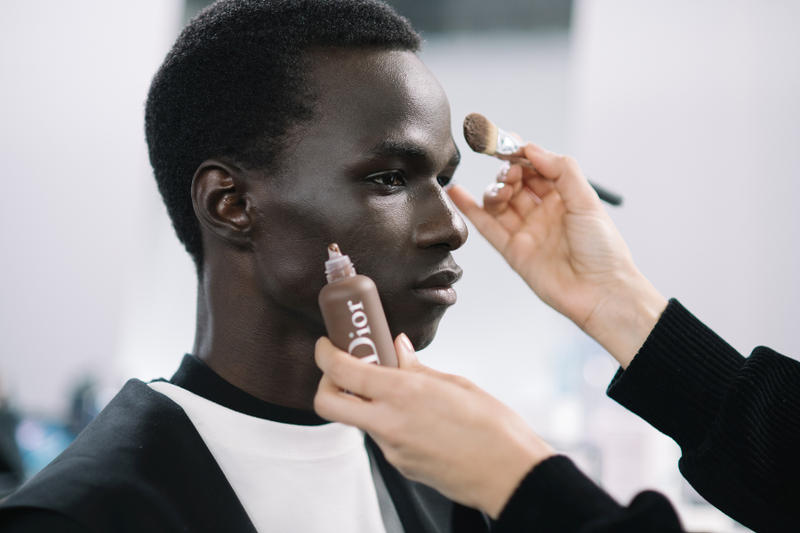 makeup make up mens womens beauty cosmetics fenty rihanna hims milk christian dior chanel daniel kaluuya ezra miller luka sabbat david beckham amber amos tynan sinks andrew dudum hers