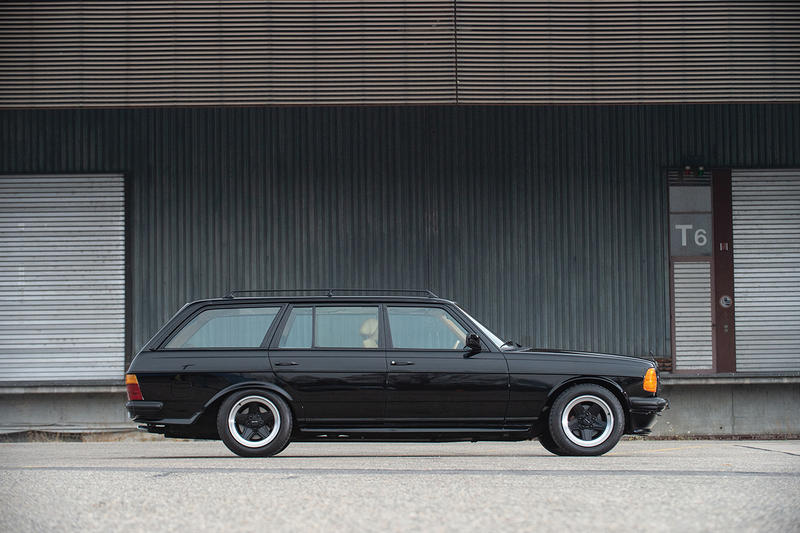 Mercedes-Benz 500 TE AMG Wagon for Auction Chris Harris Top Gear Retro Luxury Sports Cars