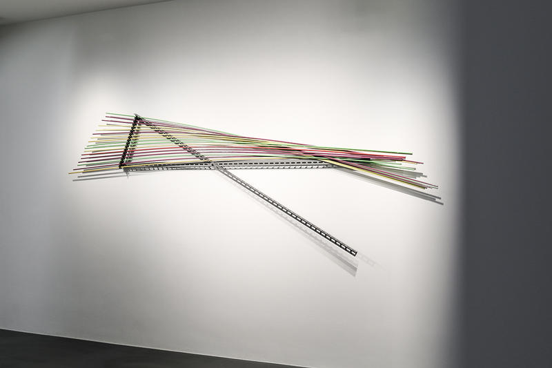 """Metal"" Exhibit Simon Lee Gallery London Inside Look Richard Serra Bruce Nauman Michelangelo Pistoletto Carl Andre Giovanni Anselmo Luciano Fabro"