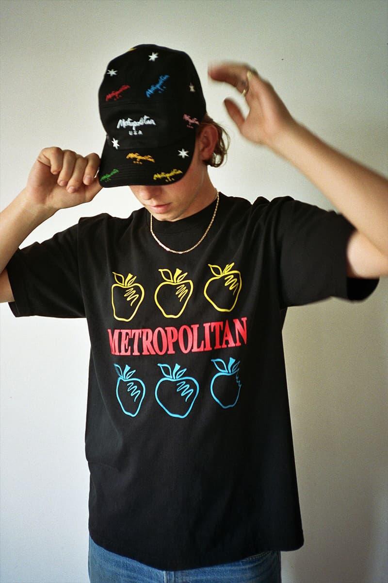 Metropolitan's First Drop Of 2019 fashion HUF keith hufnagel metropolitan lookbooks lookbook