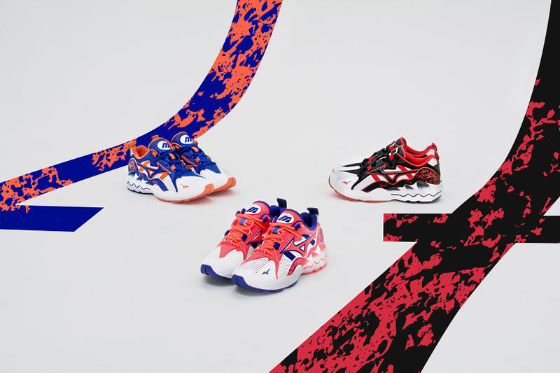 Mizuno Celebrates Iconic 90s Athletic Sneaker with Revival 1990 Throwback Streetwear Pop Up Sneakers Graphic Chunky Dad Shoes