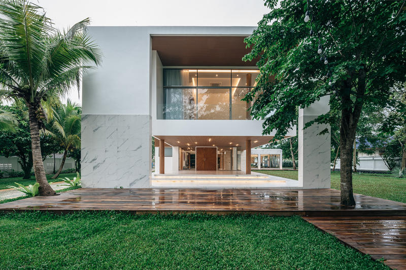 modern house thailand flat12x architects architecture firm fisherman family home