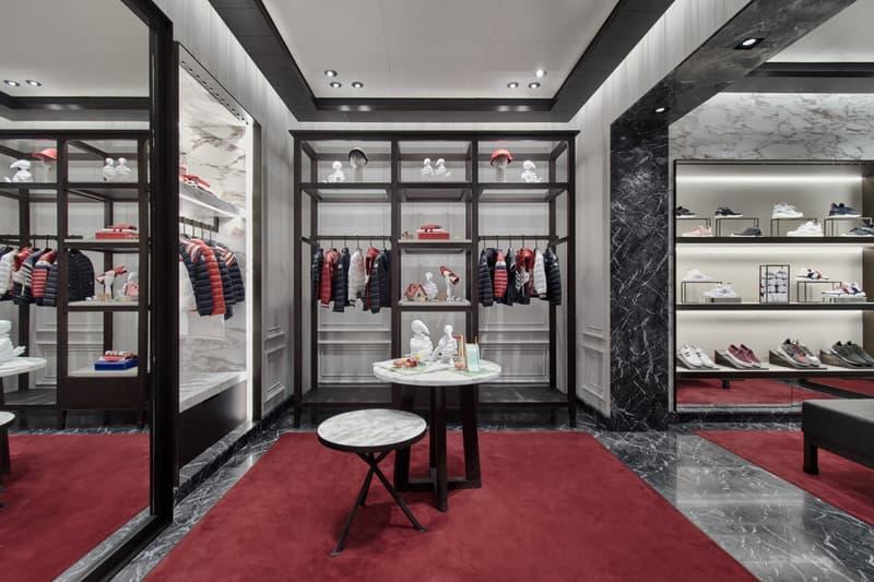 moncler sydney australia boutique store opening