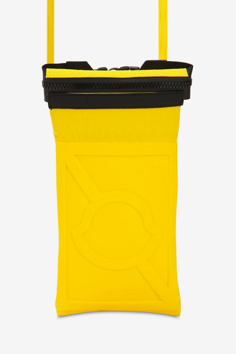 Moncler Genius Craig Green Phone Holder Release Info Date Yellow Black Pouch