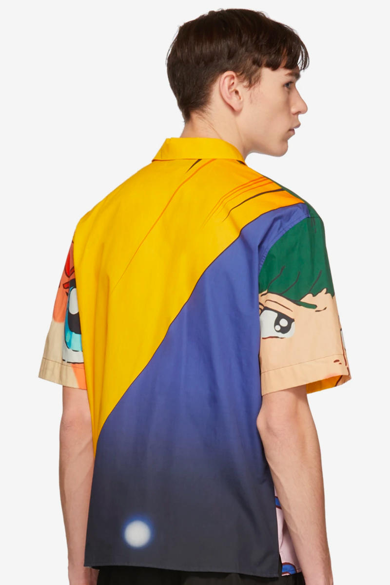 MSGM Releases Attacker You Shirts Info fashion anime SS19 style shirts volleyball ssense retail colorful prints anima manga