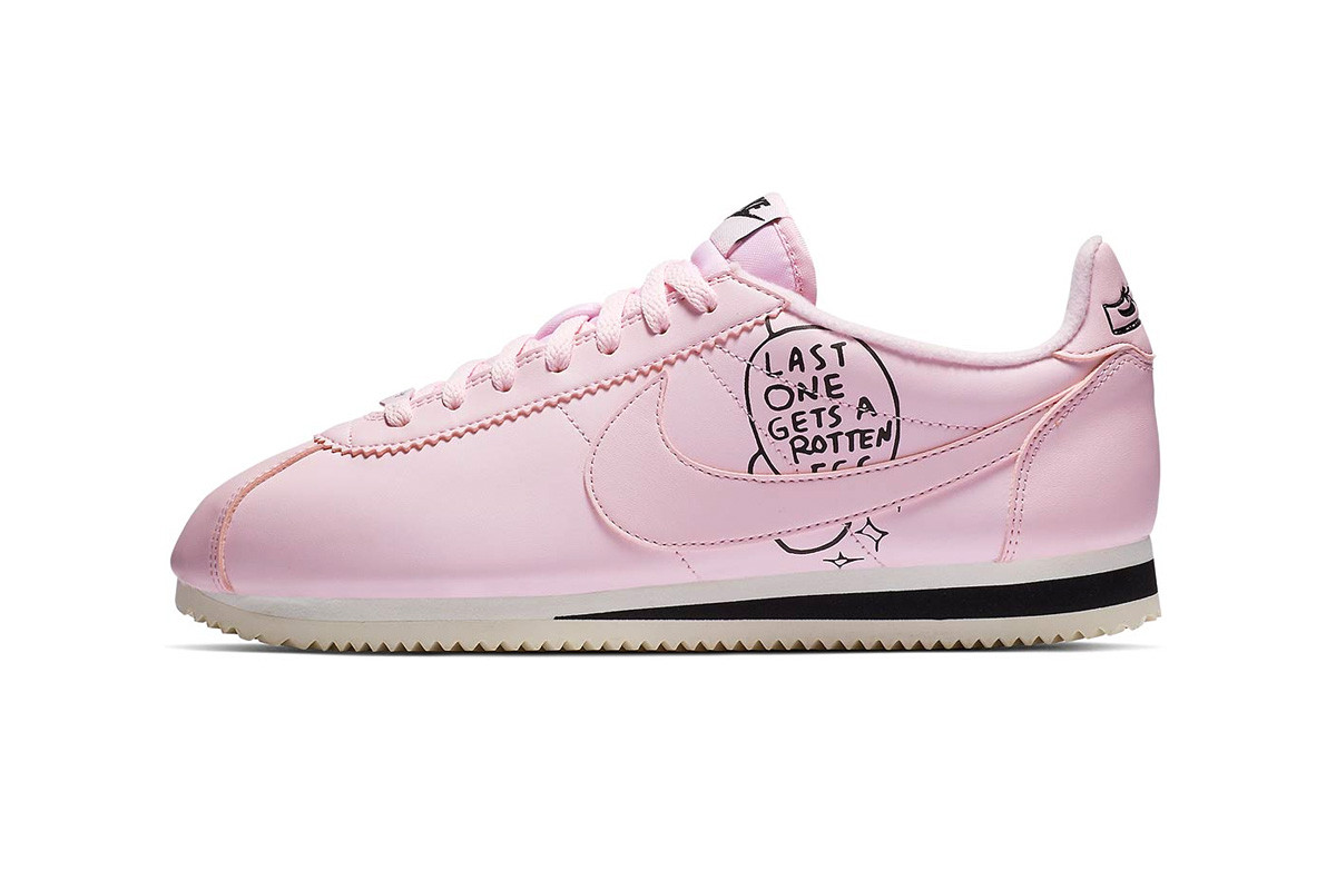 Nathan Bell x Nike Cortez Collaborative