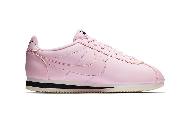 reputable site decfe 47830 Nathan Bell x Nike Cortez Collaborative Sneaker pink white Pink  Foam Black Sail