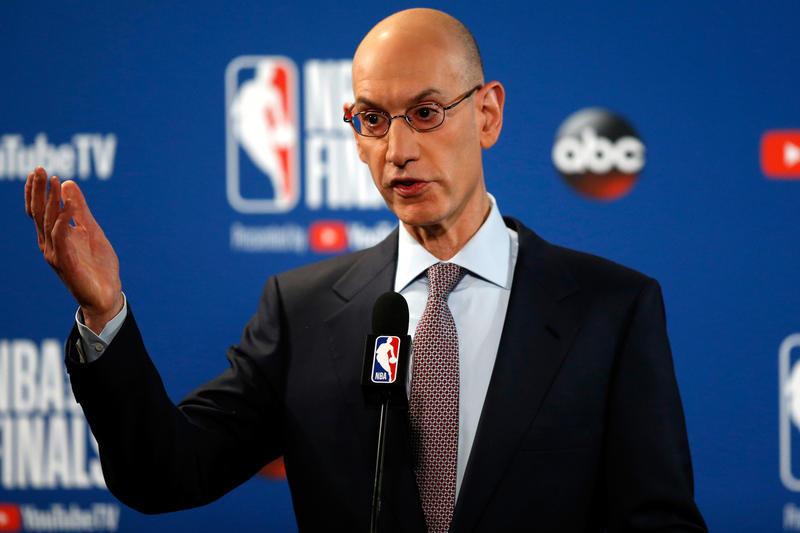NBA Proposes Lowering Draft Age From 19 to 18 basketball adam silver