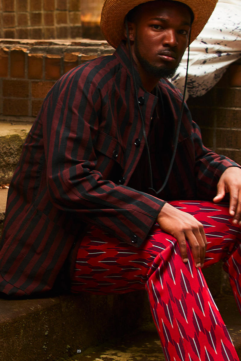 NEEDLES Pattern Poly Smooth Track Pants Release arrow butterfly red purple nepenthes new york tokyo osaka london Spring Summer 2019