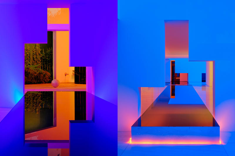 Rombo IV House mexico Miguel Ángel Aragones Architects architecture neon light house